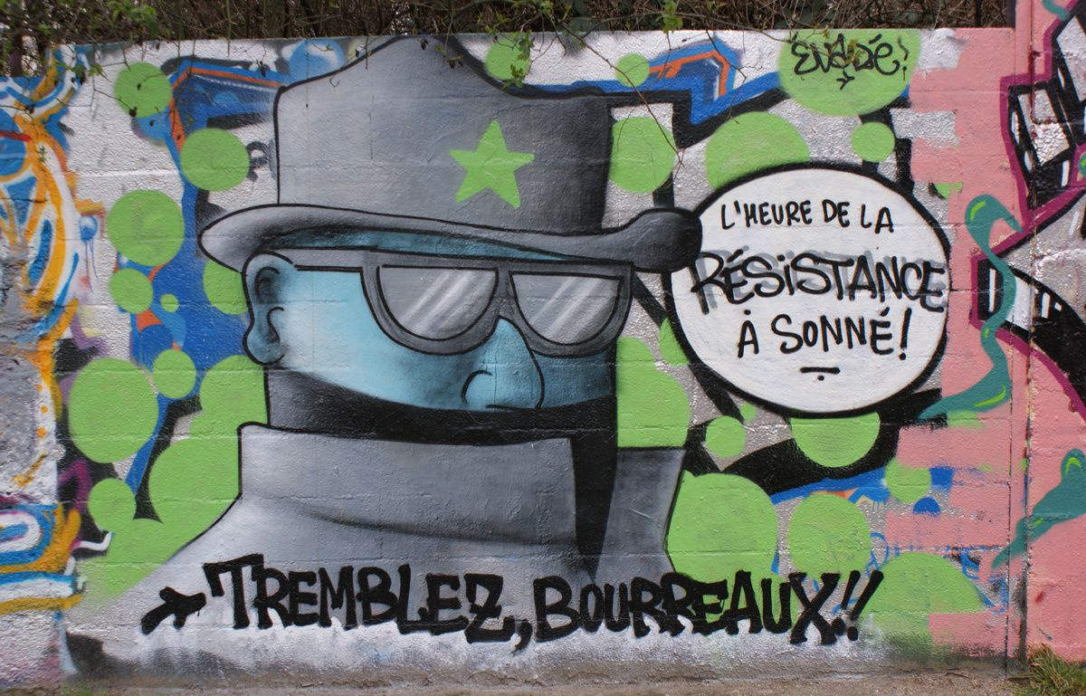 Album - Graffitis IVRY sur Seine Tom 009