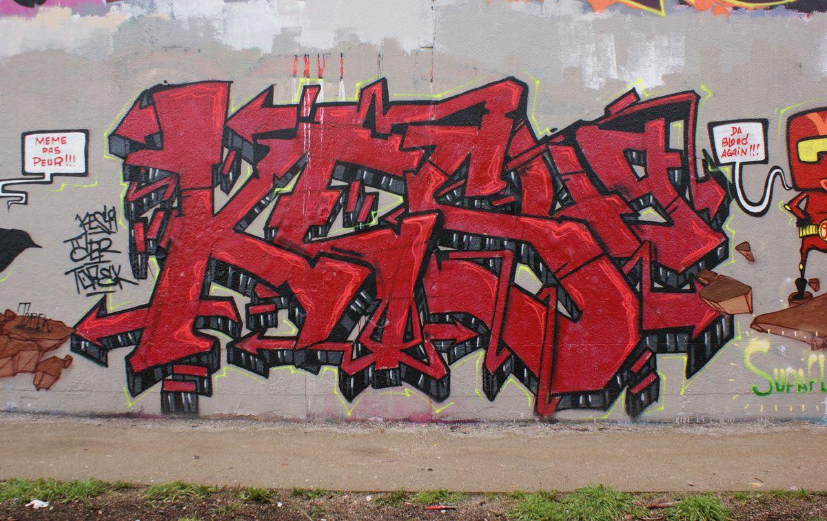 Album - Graffitis IVRY sur Seine Tom 010
