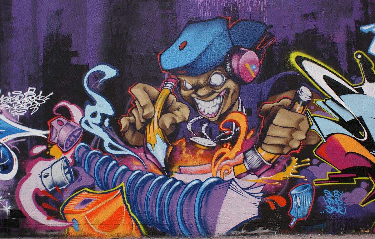 Album - Graffitis IVRY sur Seine Tom 017