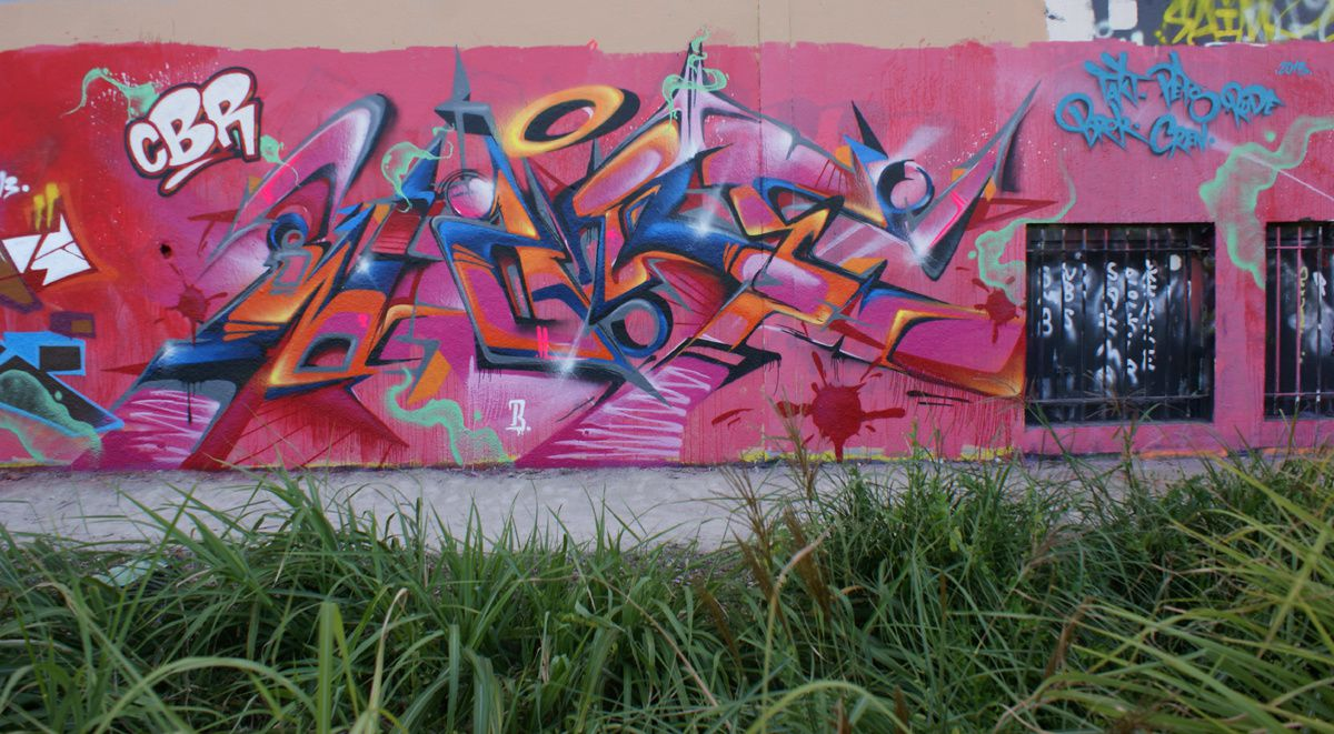 Album - Graffitis IVRY sur Seine Tom 018
