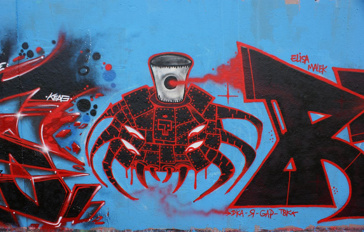 Album - Graffitis IVRY sur Seine Tom 019