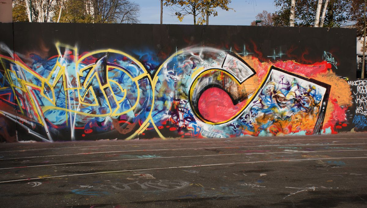 Album - Graffitis IVRY sur Seine Tom 020