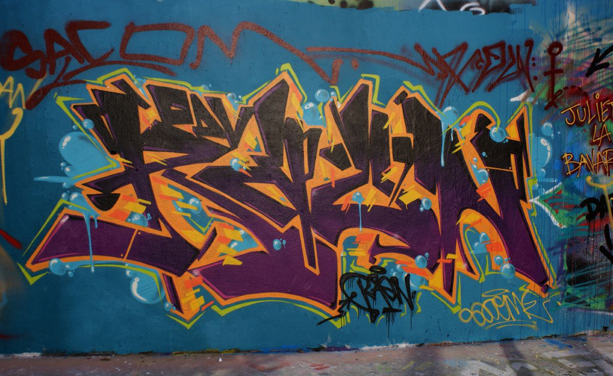 Album - Graffitis Paris Tom 009