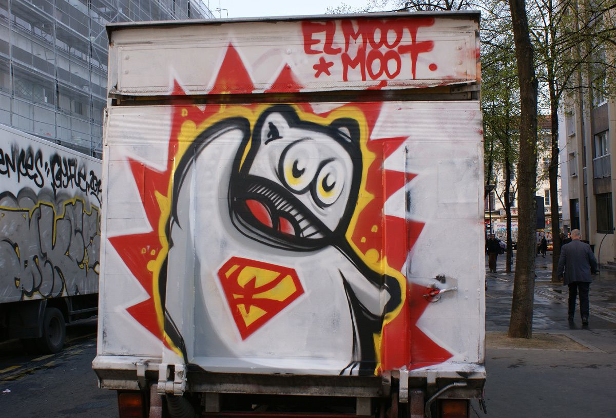 Album - Graffitis Paris Tom 010