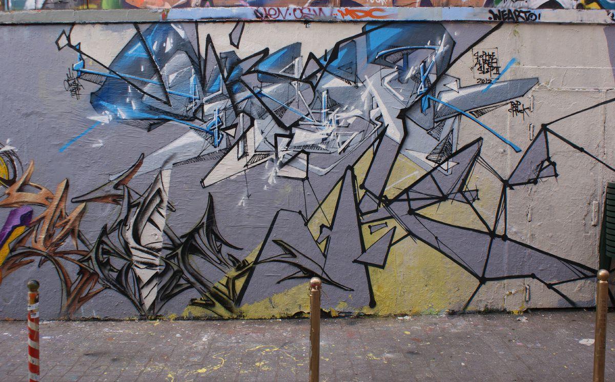 Album - Graffitis Paris Tom 011