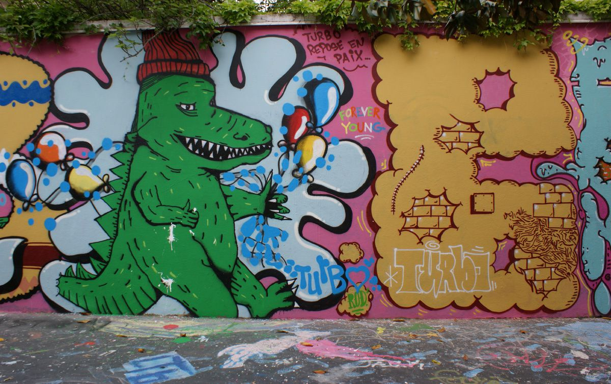 Album - Graffitis Paris Tom 012
