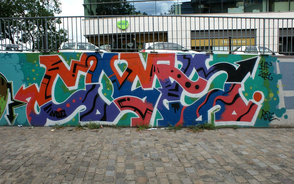 Album - Graffitis Paris Tom 006