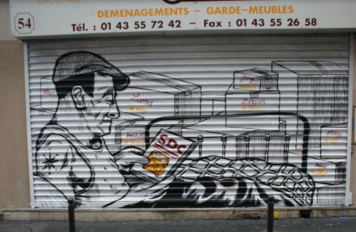 Album - Graffitis Paris Tom 006