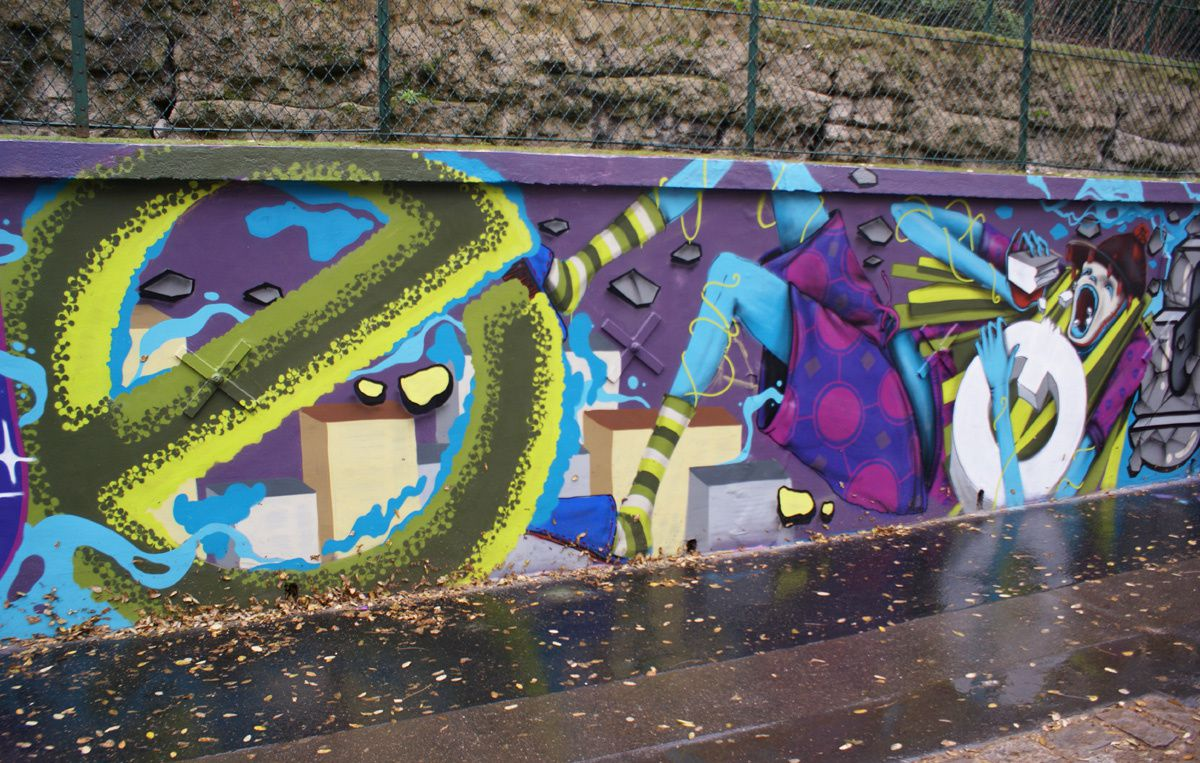 Album - Graffitis Paris Tom 007