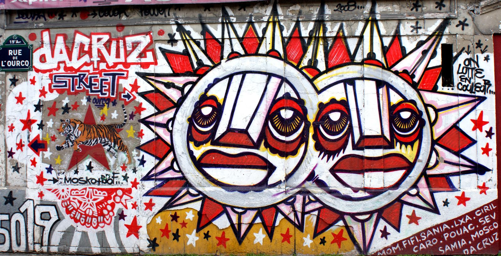 Album - Graffitis Paris Tom 001