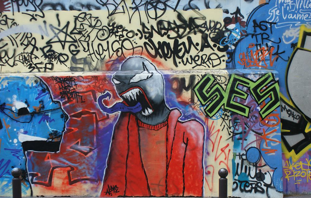 Album - Graffitis Paris Tom 002