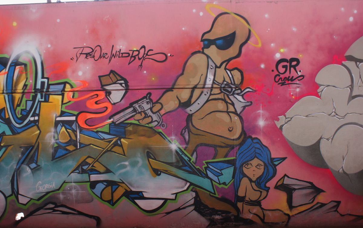 Album - Graffitis Toulouse Tom 004
