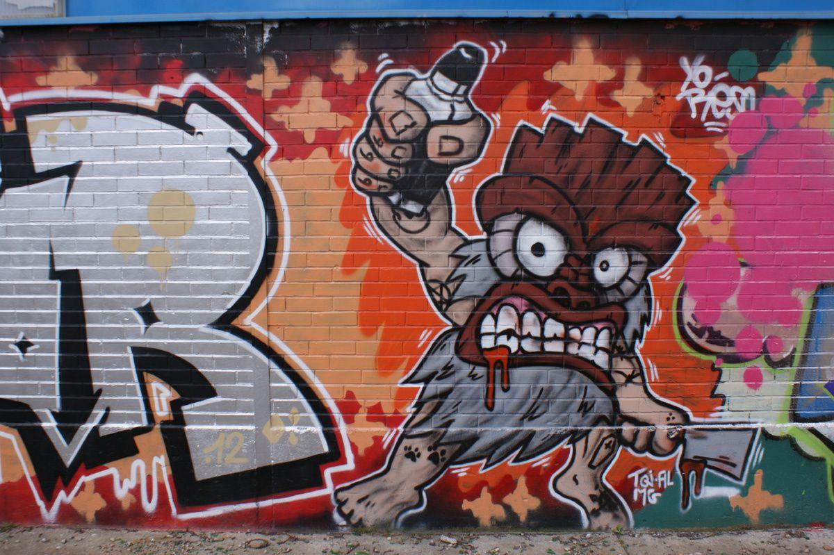 Album - Graffitis Toulouse Tom 004