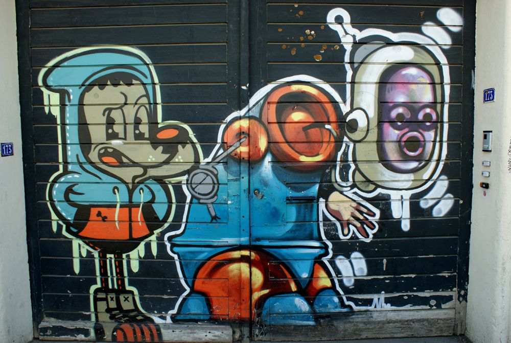Album - Graffitis Vitry sur Seine Tom 001