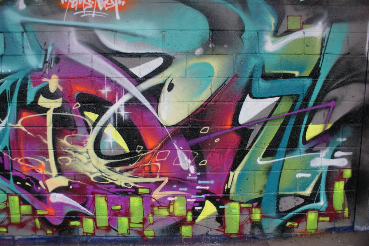 Album - Graffitis Vitry sur Seine Tom 004