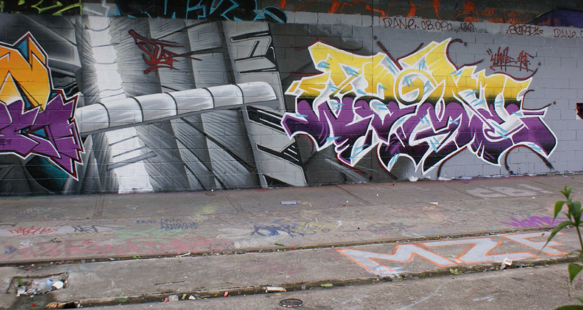 Album - Graffitis Vitry sur Seine Tom 007