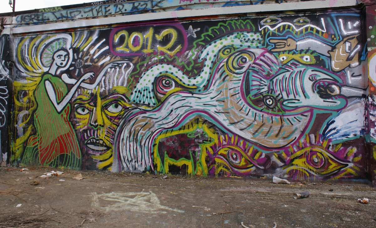 Album - Graffitis Vitry sur Seine Tom 003