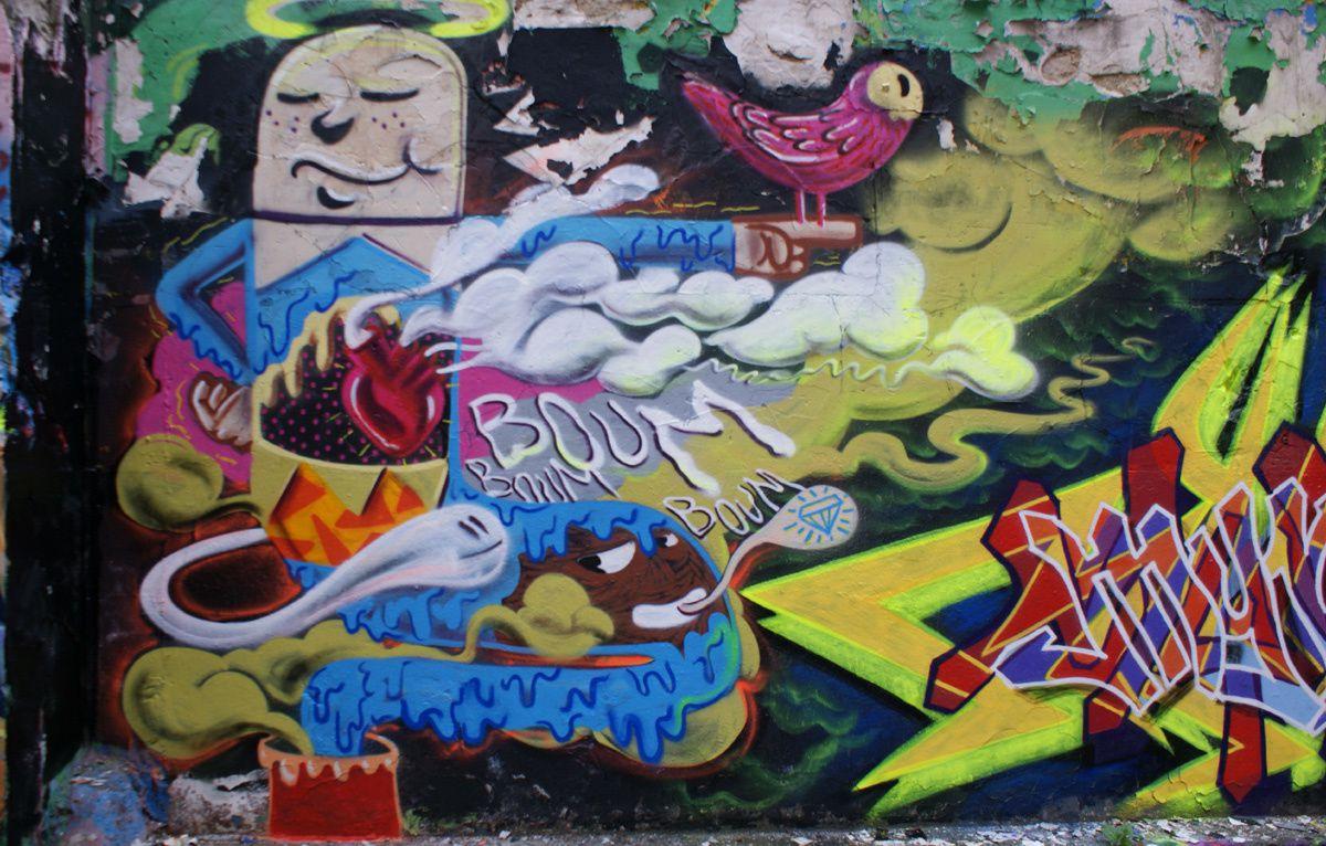 Album - Graffitis Dept 93 Tom 009