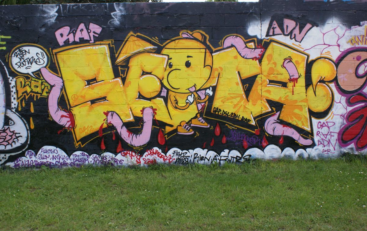 Album - Graffitis Dept 93 Tom 010