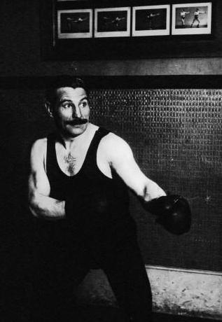 Castérès - boxe française, canne
