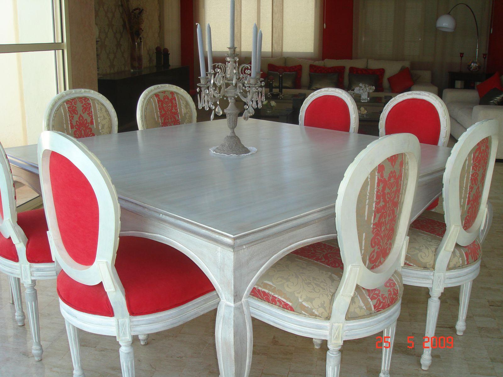 Salle a manger et sejour marocain a vendre le blog de for Le bon coin chaises salle a manger