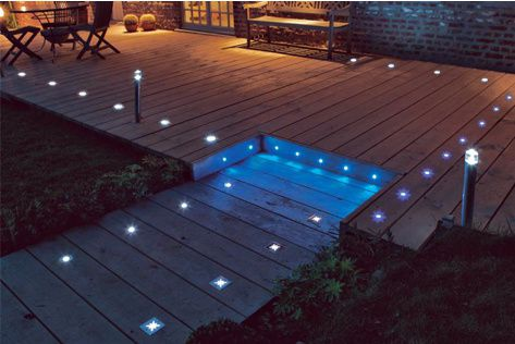 Spot led encastrable pour l 39 ext rieur ip67 le blog du for Terrasse eclairage exterieur