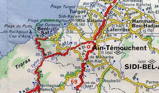 Carte Algerie Beni Saf.Mon Village Natal Beni Saf Le Blog De Gaby