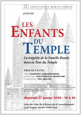 affiche enfants du temple