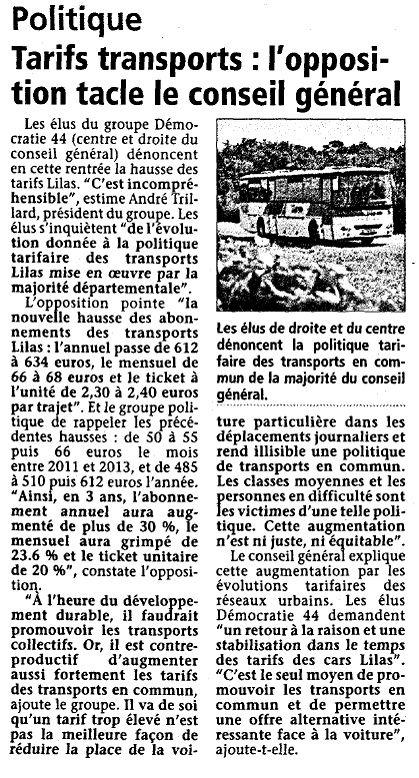 Hebdo Sèvre et Maine 05-09-13