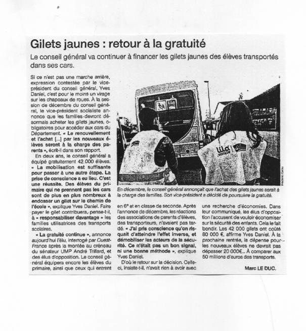 Ouest France 13-01-11