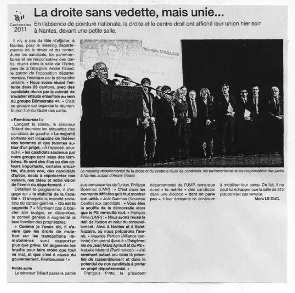 Ouest France 15-03-11