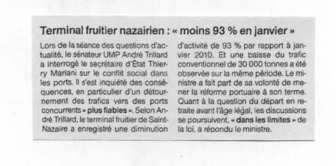Ouest France 18-02-11