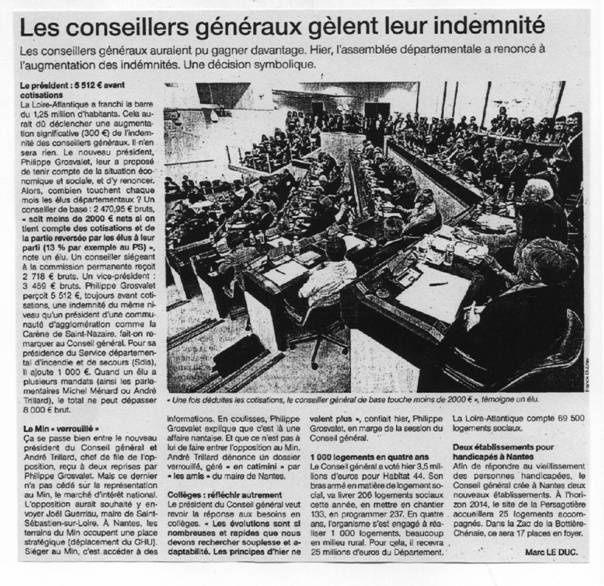 Ouest France 19-04-11