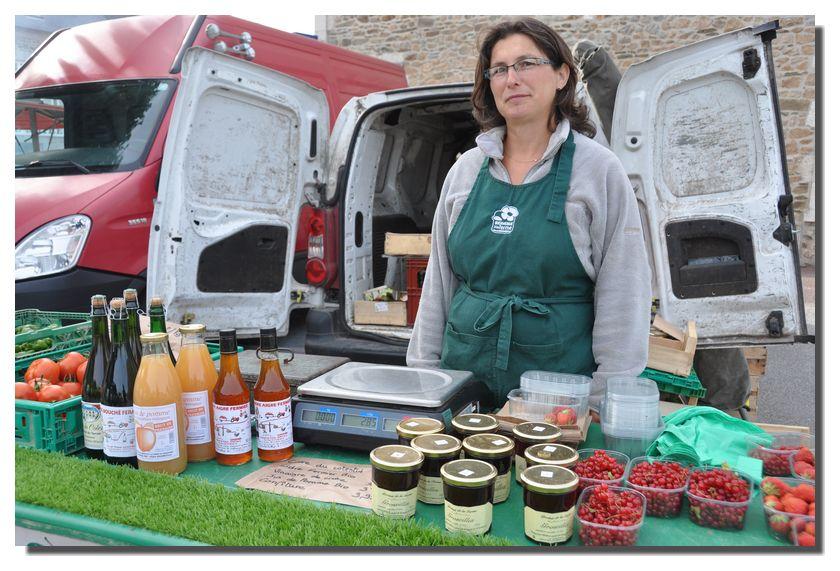 Des images des marchés du Val de Saire en toutes saisons, mais aussi de foires et marchés traditionnels..