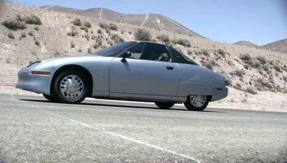 une voiture lectrique sur les routes californiennes en 1996 il tait une fois l ev1. Black Bedroom Furniture Sets. Home Design Ideas