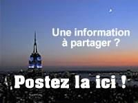 Partagez l'information !