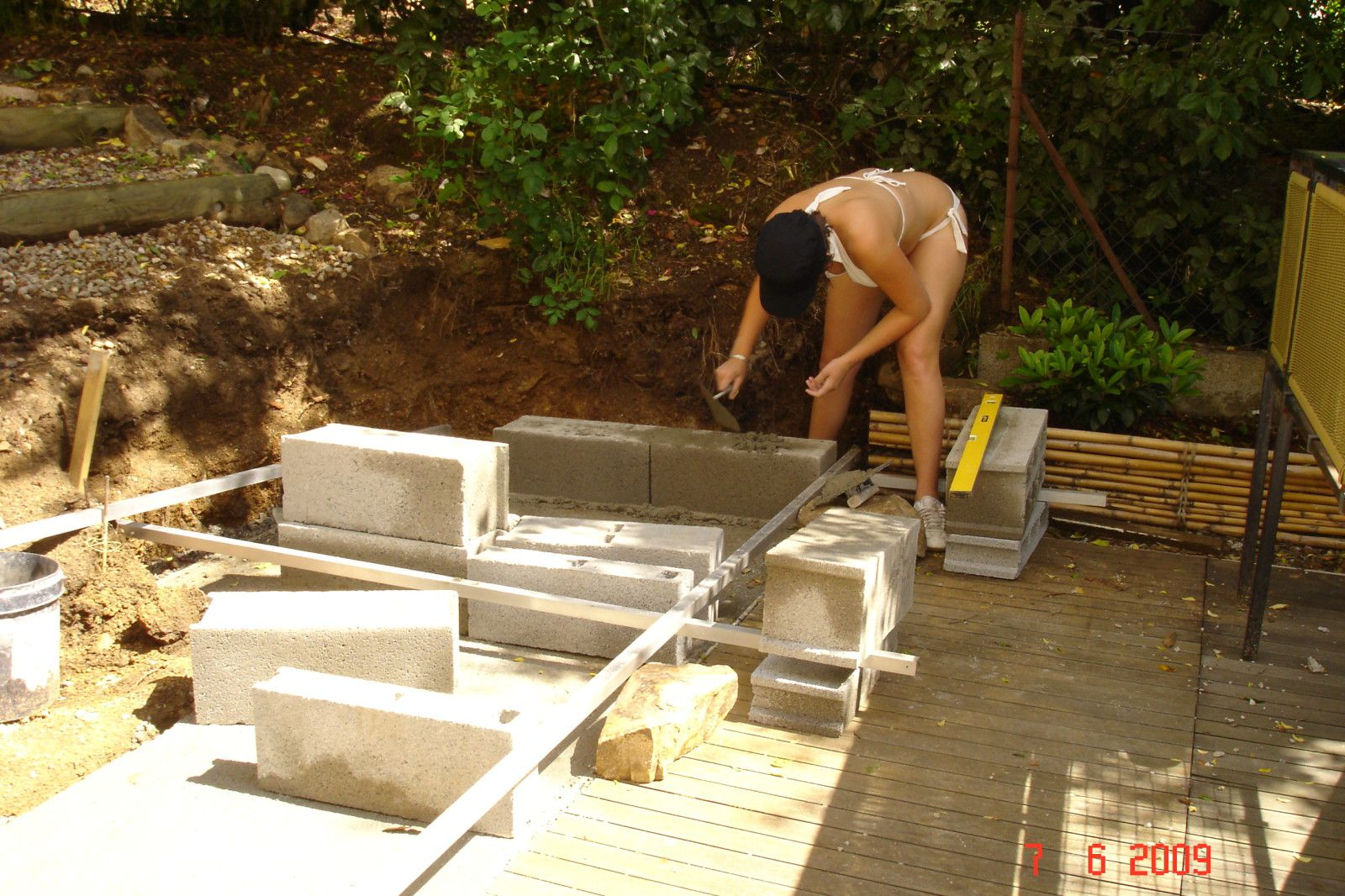 construction de mon four bois barbecue le blog de. Black Bedroom Furniture Sets. Home Design Ideas