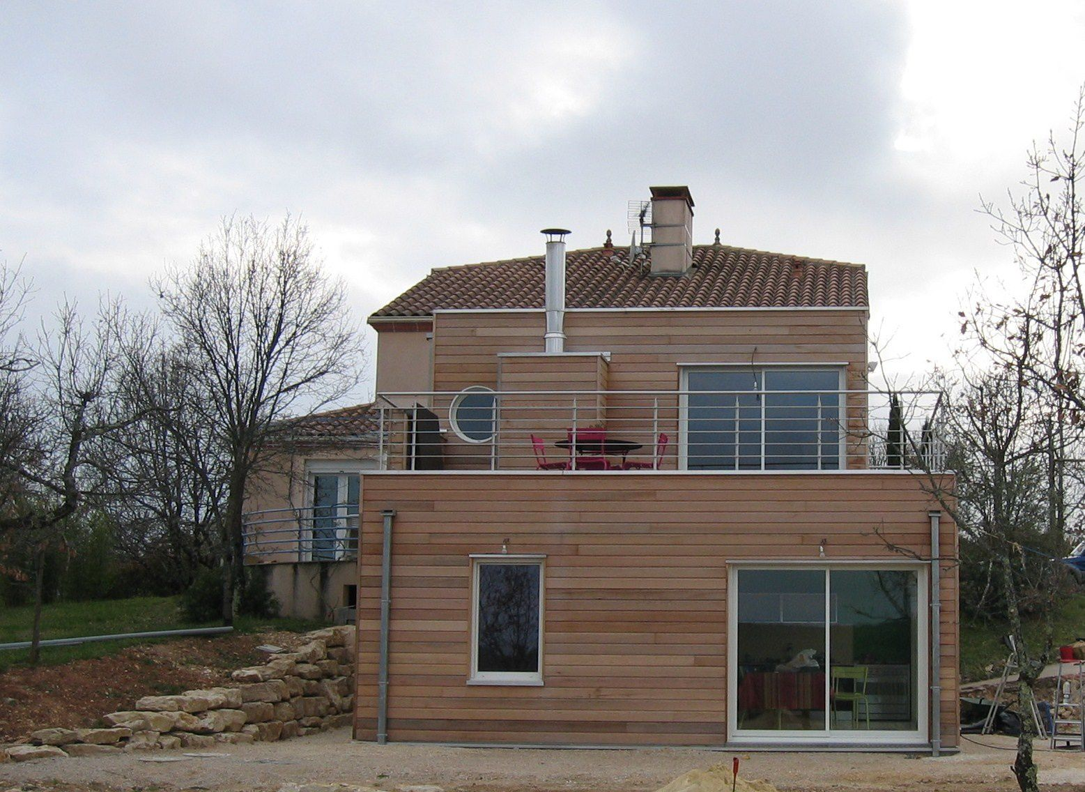 Album batitec retrospective batitec constructeur for Construction maison bioclimatique