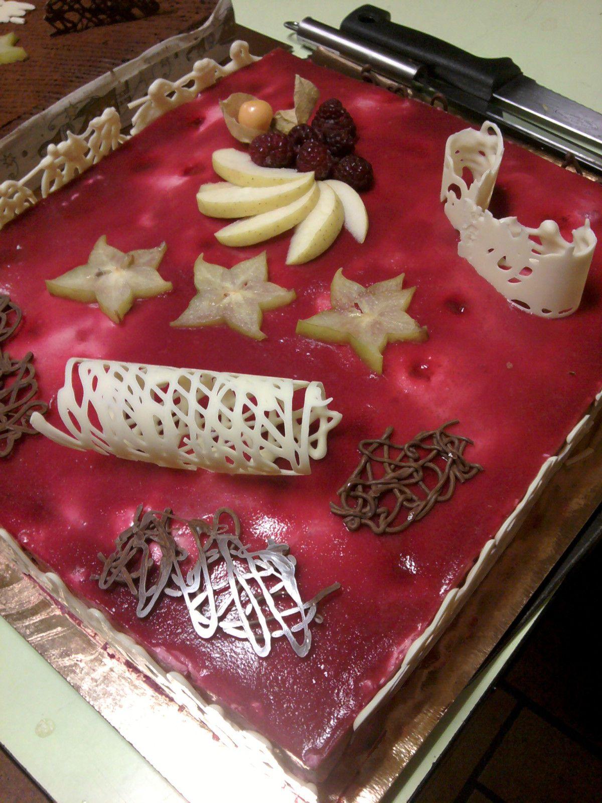 Recettes et astuces de cuisine d coration en - Decoration en chocolat trucs et astuces ...