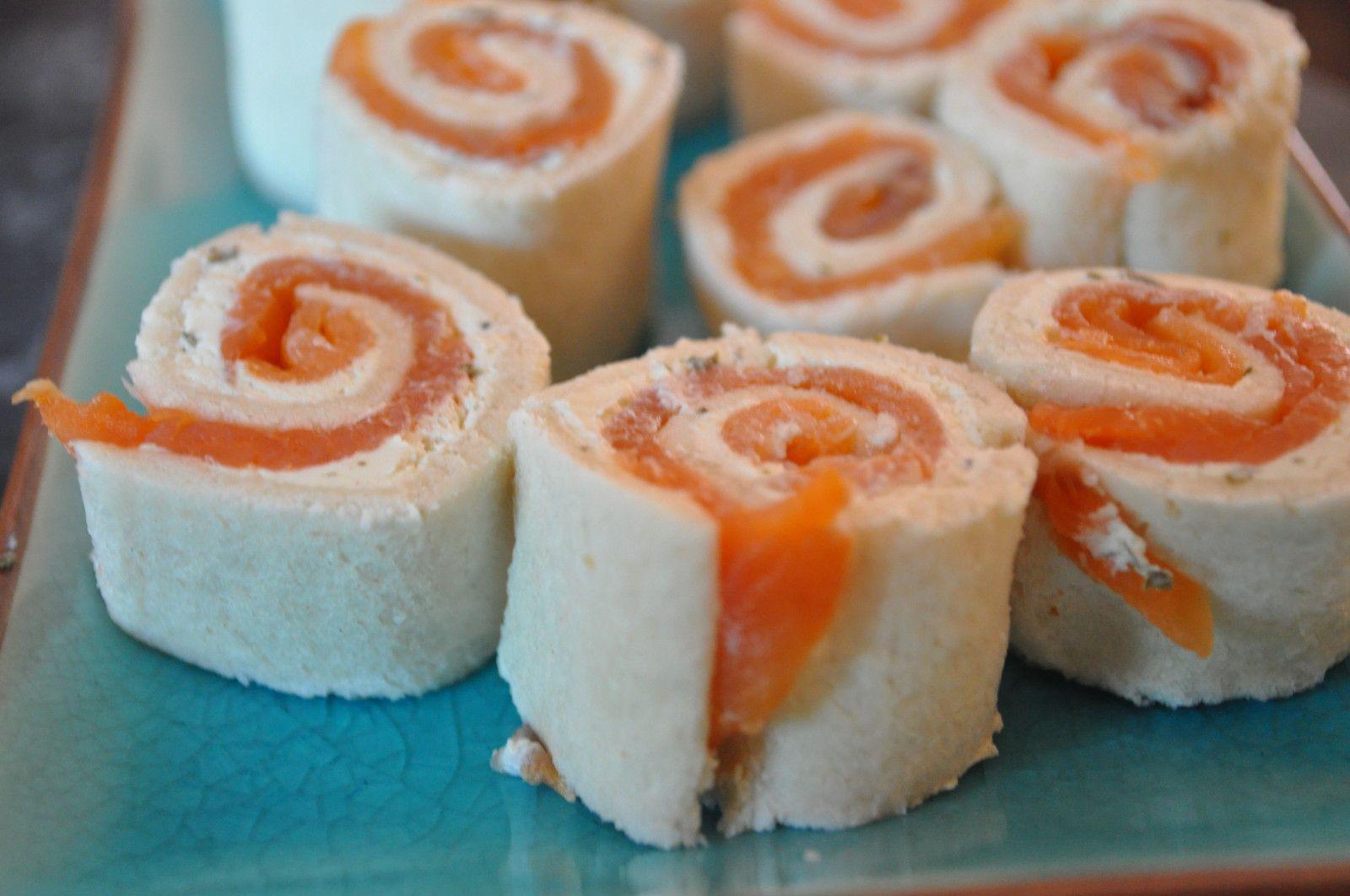 Petites bouch es roul es au pain de mie blog cuisine for Congeler du pain frais