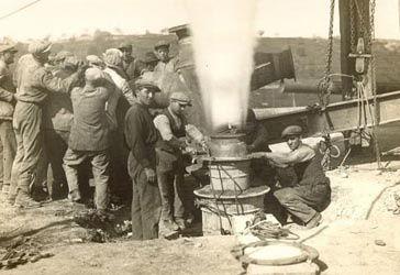 larderello 1°centrale géothermique au monde 1911