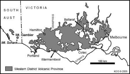 western victorian volcanic plain - Roomsey