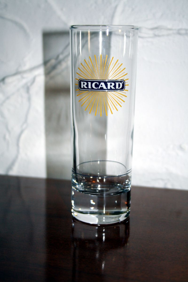 ricard verre tube ricard logo solarise 2009 22cl. Black Bedroom Furniture Sets. Home Design Ideas