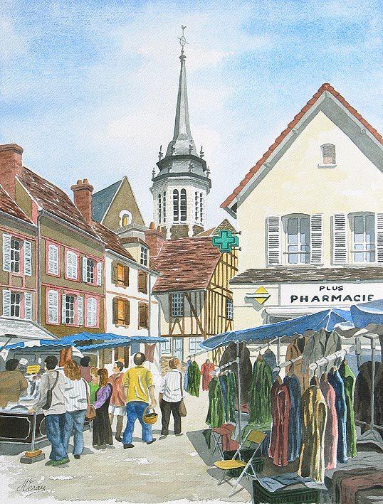 Echantillon d'aquarelles des lieux les plus pittoresques du département de l'Yonne. Consulter également mon site perso: http://pagesperso-orange.fr/michel.veray/aquarelles.htm