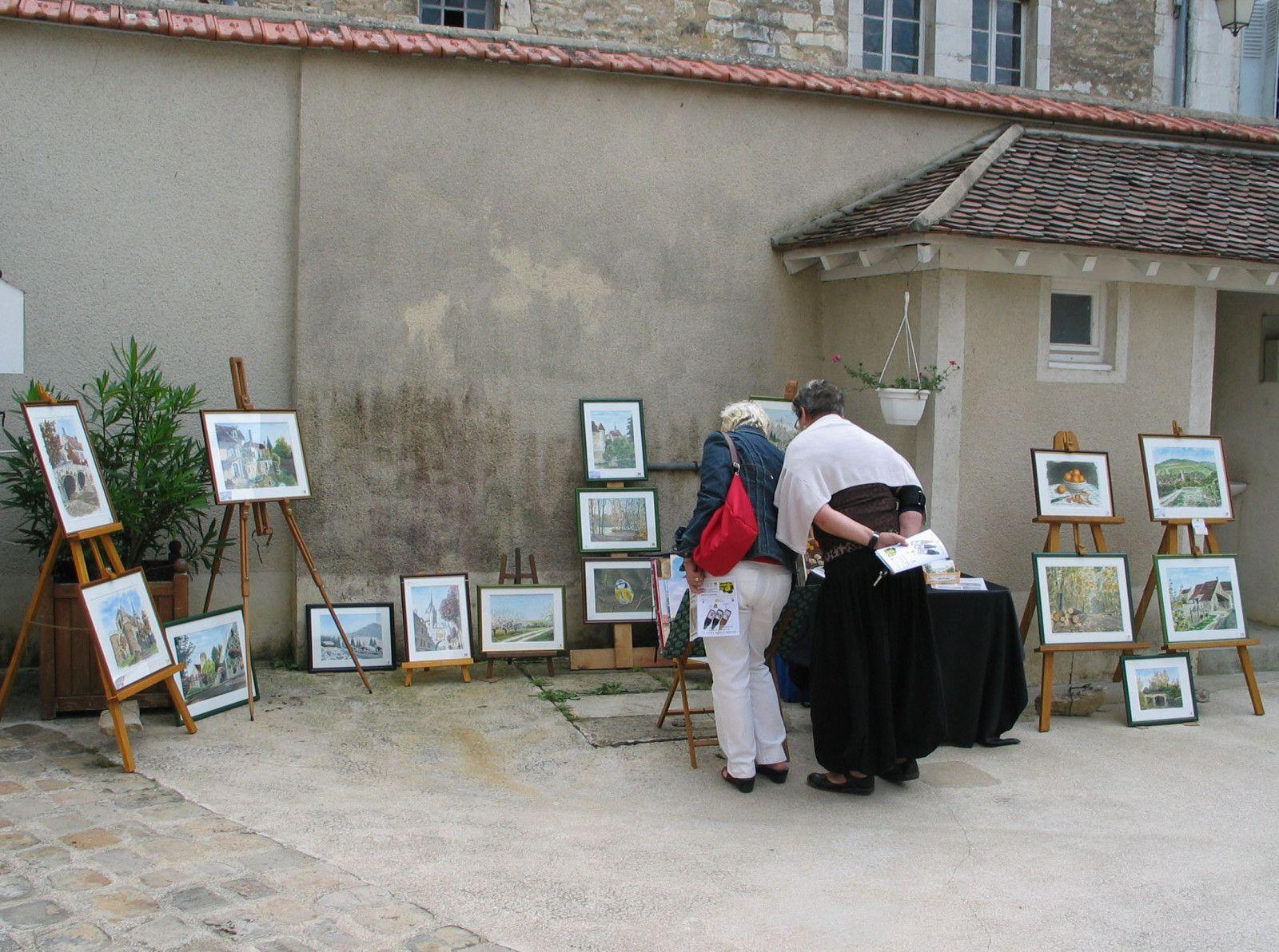 Peintres de vignes en caves 2009 à St Bris
