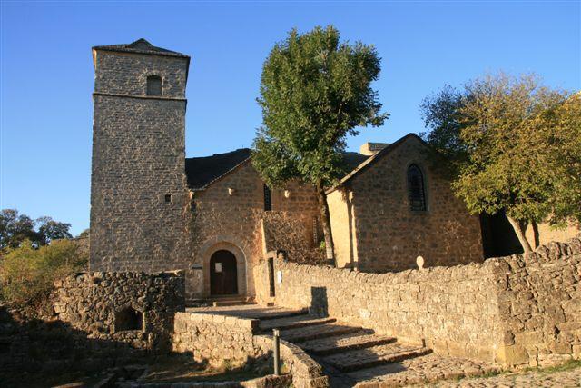 La Couvertoirade église