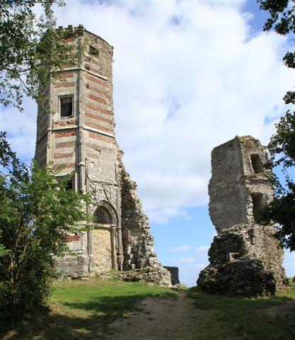 Montfort L'Amaury : ruines du château