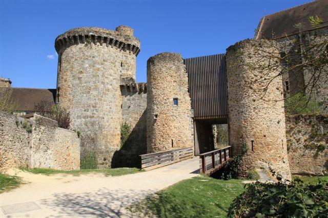 Chevreuse château La Madeleine