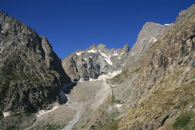 Ailefroide et glacier Noir