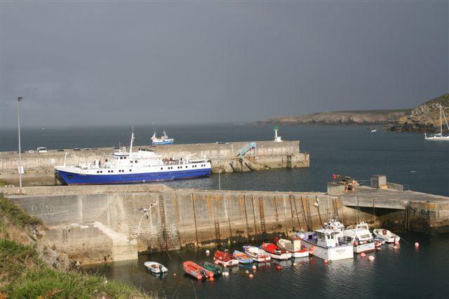 Ile d'Ouessant : port du Stiff